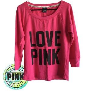 PINK Victoria's Secret Long Sleeve Sweater